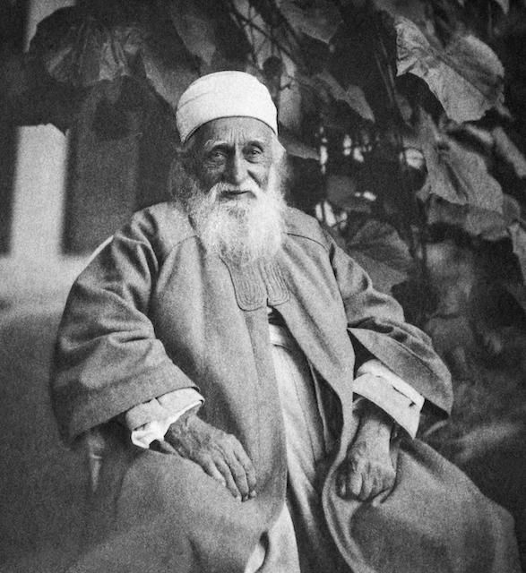 Портрет Абдул-Баха